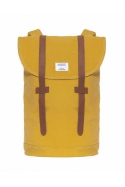 Stig Canvas Backpack (Yellow)