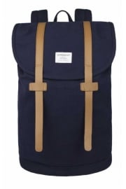 Stig Large Canvas Backpack (Blue)