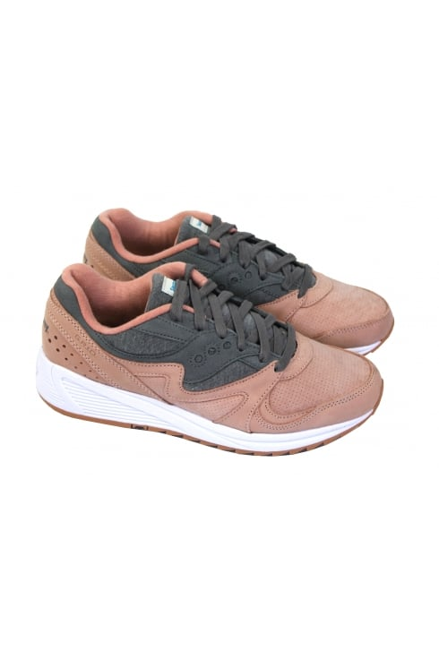Saucony Originals Shadow Grid 8000 (Salmon/Charcoal)