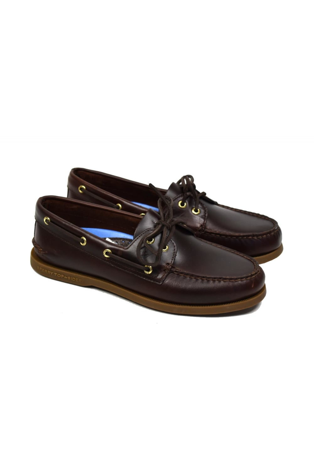 cc8bc9d355 Sperry Top-Sider Authentic Original 2-Eye Men s Boat Shoe (Amaretto ...