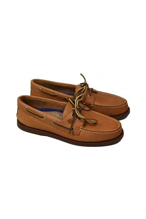 Sperry Top-Sider Authentic Original 2-Eye Men's Boat Shoe (Sahara)