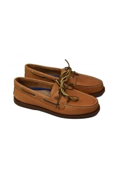 Authentic Original 2-Eye Men's Boat Shoe (Sahara)