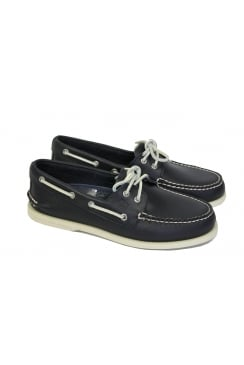 Authentic Original Men's 2-Eye Boat Shoe (Navy)