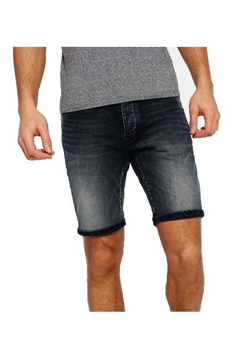 Superdry Biker Shorts (Night Shadow)