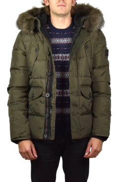 Chinook Parka Jacket (Dark Khaki)