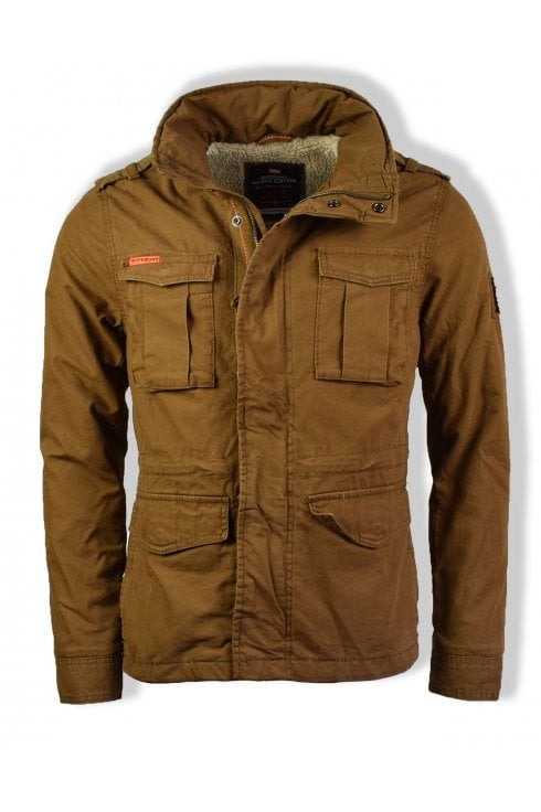 Superdry Classic Rookie Military Jacket (Rusty Gold)