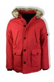 Everest Parka Jacket (Red)