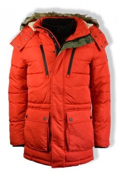 Expedition Parka Jacket (Blood Orange)