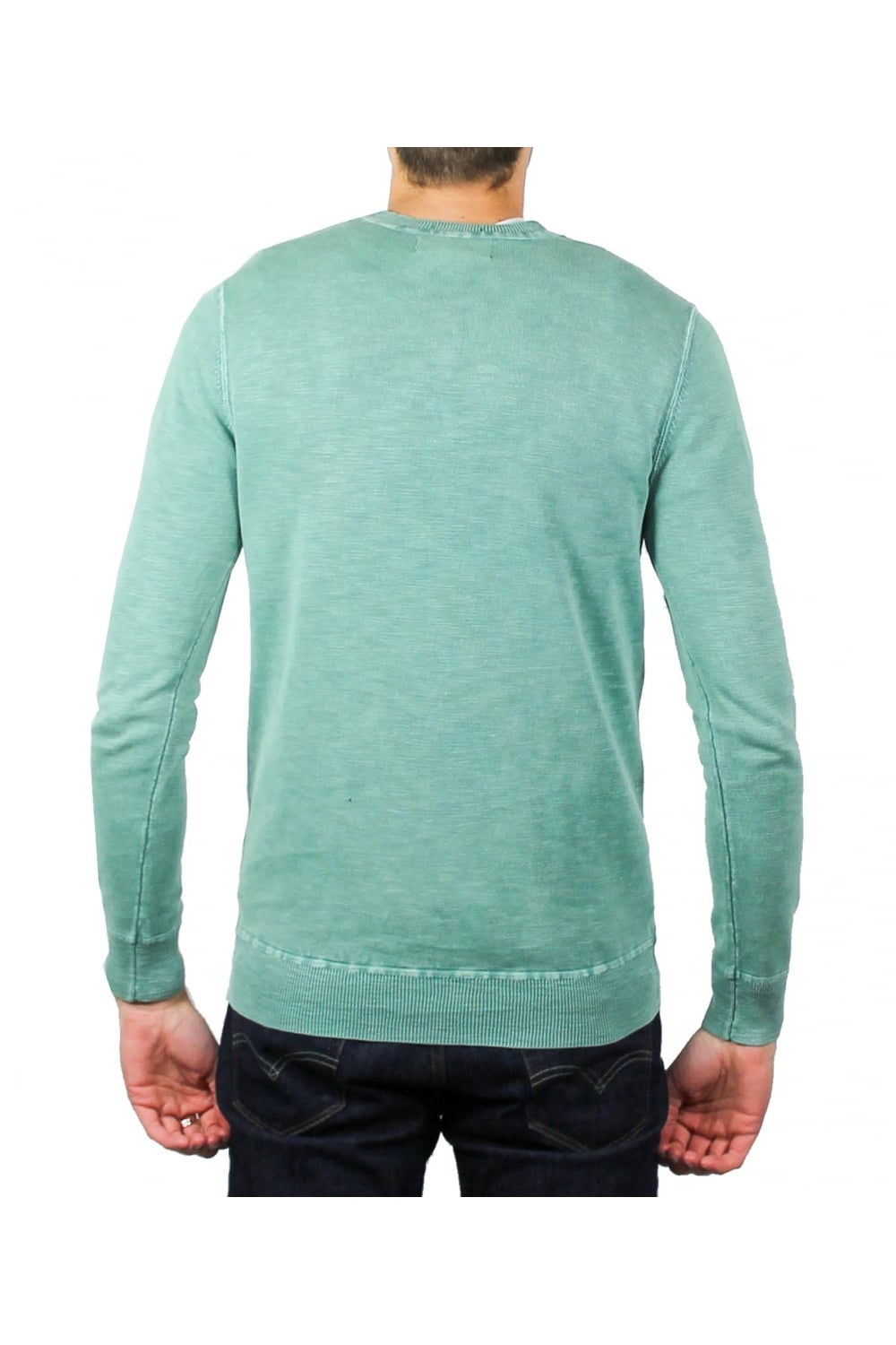 Crew Sweater Superdry Mens Garment Dyed L.a
