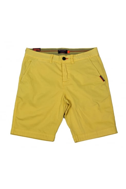 Superdry International Chino Short (Vanilla Yellow)