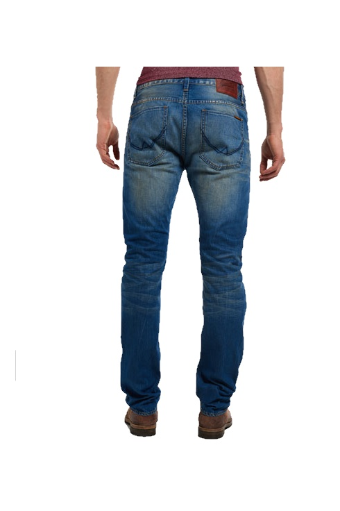 a54c59b8 Superdry Officer Jeans (Blue Worn) - Jeans from ThirtySix UK