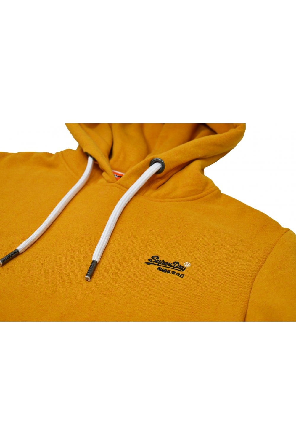 separation shoes 59b1a 2fbf0 Superdry Orange Label Pullover Hoody (Warm Gold Grit)