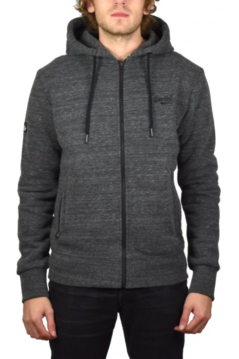 Superdry Orange Label Urban Zip Hoody (Asphalt Grit)