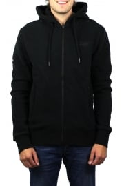 Orange Label Urban Zip Hoody (Black)