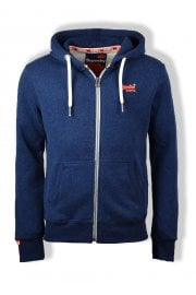 Orange Label Zip Hoody (Montana Blue Grit)
