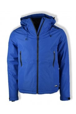 Padded Elite Windcheater (Electric Blue)