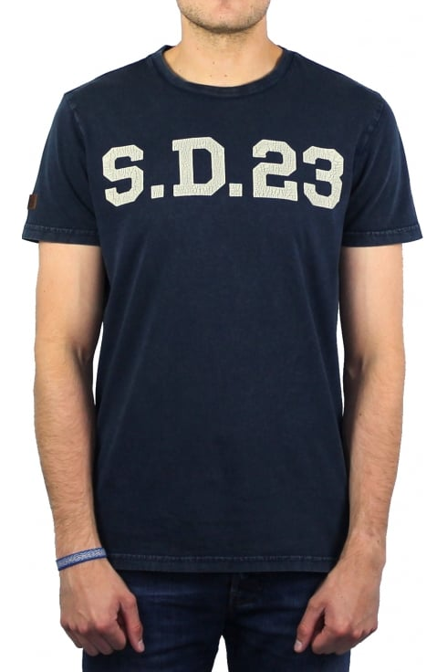 Superdry Solo Sport Short-Sleeved T-Shirt (Rich Navy)