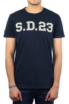 Solo Sport Short-Sleeved T-Shirt (Rich Navy)