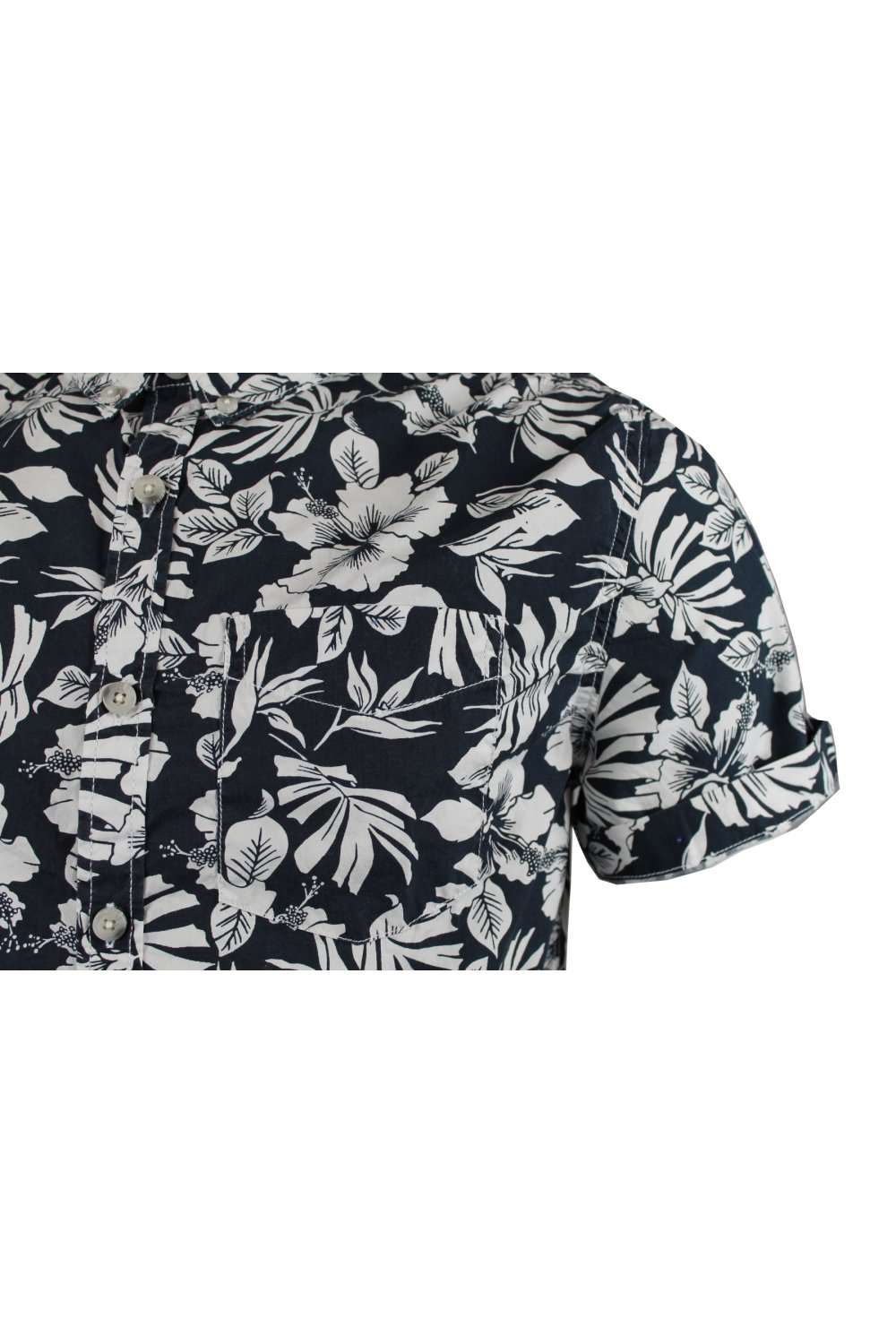 f702ed8cb4 Superdry Southbank Surf Shirt (Great White Hibiscus) - T-Shirts from ...