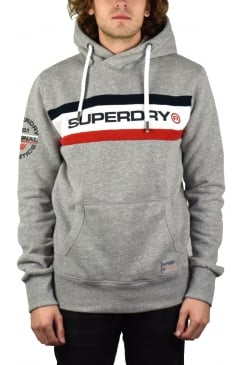 Trophy Chest Band Hoody (Stadium Grey Grindle)