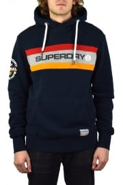 Trophy Chest Band Hoody (Three Pointer Navy)