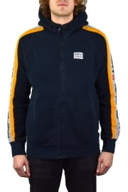 Trophy Sleeve Panel Zip Hoody (Three Pointer Navy)