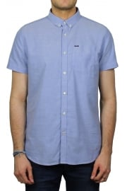 Ultimate Oxford Short-Sleeved Shirt (Azure Blue)
