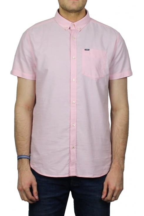 Superdry Ultimate Oxford Short-Sleeved Shirt (Coast Pink)