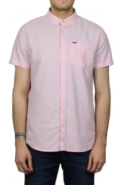 Ultimate Oxford Short-Sleeved Shirt (Coast Pink)