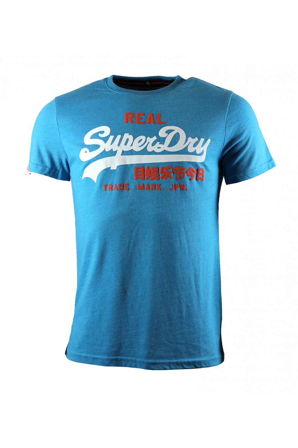 superdry vintage logo duo entry t shirt aquamarine marl. Black Bedroom Furniture Sets. Home Design Ideas