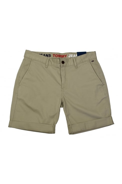Tommy Jeans Basic Chino Shorts (Plaza Taupe)