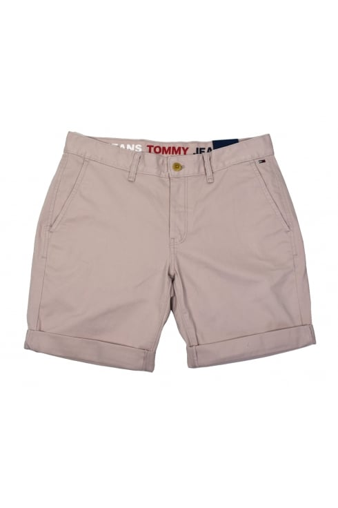 Tommy Jeans Basic Chino Shorts (Violet Ice)