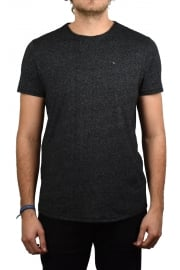 Basic Crew-Neck Short-Sleeved T-Shirt (Tommy Black)