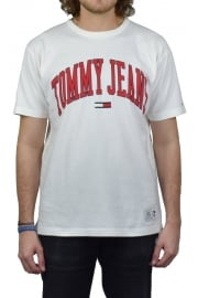Collegiate T-Shirt (Bright White)