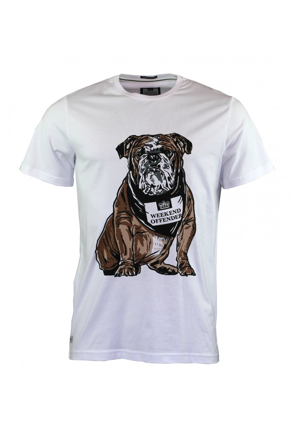 Bulldog Short Sleeved T Shirt White T Shirts From
